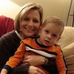 Mother with Boy with Autism