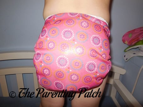 Pink Bummis Duo-Brite Cloth Cloth Diaper 9