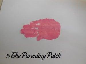 One Pink Handprint