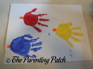 Adding Orange Fingerprint Beaks