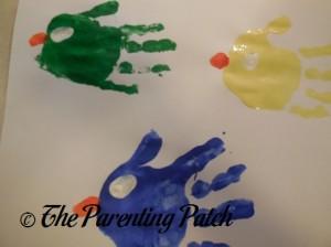 Adding White Fingerprint Eyes