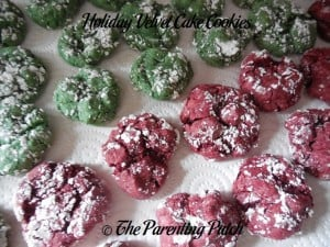 Holiday Velvet Cake Cookies
