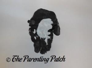 Adding a White Palm Print