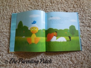 Inside Pages of Duck & Goose Go to the Beach 1