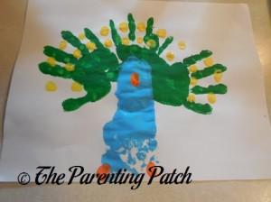 Adding Orange Beak and Feet Fingerprints