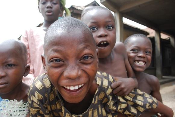 Kids in Nigeria