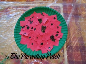 Watermelon Paper Plate Craft