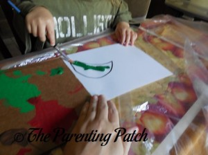 Painting the Crescent Moon Green