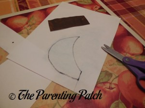 Cutting out the Rectangle and Crescent Moon