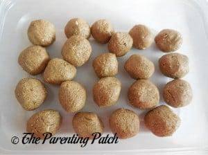 Peanut Butter Fiber Balls