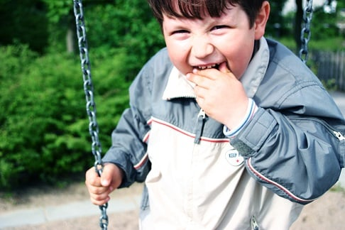 Overweight Male Child