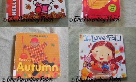 Board Books for Autumn for Toddlers