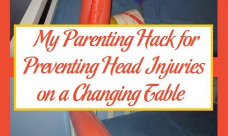 My Parenting Hack for Preventing Head Injuries on a Changing Table