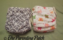 Imagine One-Size Stay-Dry and Imagine One-Size Bamboo All-in-One Cloth Diaper Comparison Review
