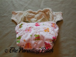 Snaps of Imagine One-Size Bamboo All-in-One Cloth Diaper