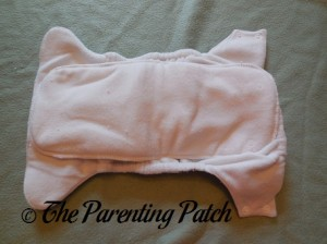 Interior of Imagine One-Size Stay-Dry All-in-One Cloth Diaper
