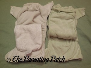 Comparing Inserts of Imagine One-Size Stay-Dry and Imagine One-Size Bamboo All-in-One Cloth Diapers 1