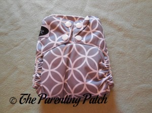 Front of Imagine One-Size Stay-Dry All-in-One Cloth Diaper