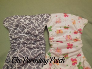 Comparing Snaps of Imagine One-Size Stay-Dry and Imagine One-Size Bamboo All-in-One Cloth Diapers