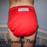 Red Sankofa Diapers Pocket Diaper: Daily Diaper