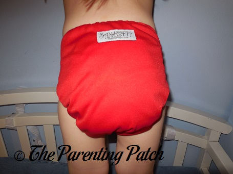Red Sankofa Diapers Pocket Diaper 7