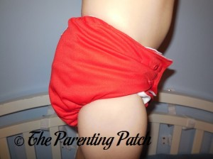 Red Sankofa Diapers Pocket Diaper 8