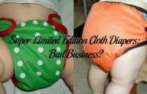Super Limited Edition Cloth Diapers: Bad Business?