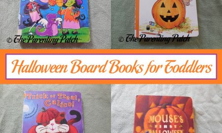 Board Books for Halloween for Toddlers