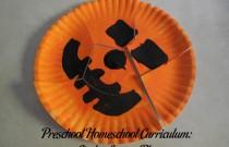 Preschool Homeschool Curriculum: Circles Lesson Plan