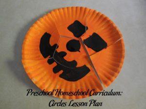 Paper Plate Pumpkin Puzzle