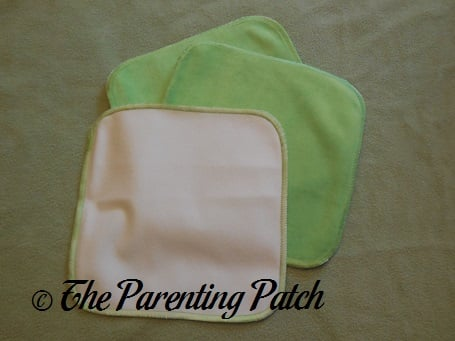 Buttons Diapers Velour Baby Wipes