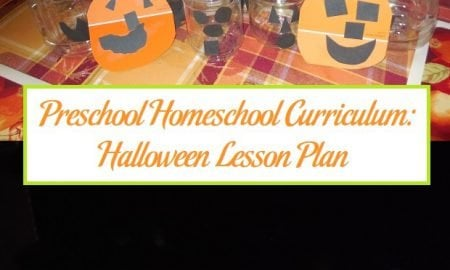 Preschool Homeschool Curriculum: Halloween Lesson Plan