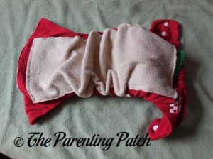 Red StorkStopover Fitted Pocket Cloth Diaper 3
