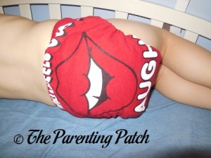 Red StorkStopover Fitted Pocket Cloth Diaper 6