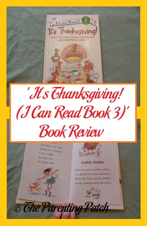 its thanksgiving i can read book 3 book review