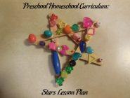 Preschool Homeschool Curriculum: Stars Lesson Plan