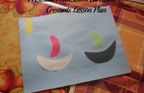 Preschool Homeschool Curriculum: Crescents Lesson Plan