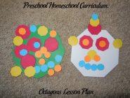Preschool Homeschool Curriculum: Octagons Lesson Plan