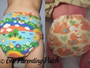 Mouse&Hatter Designs Fitted Cloth Diaper Review