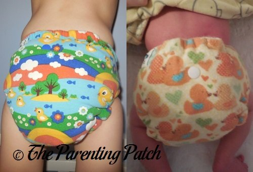 Mouse&Hatter Designs Fitted Cloth Diapers