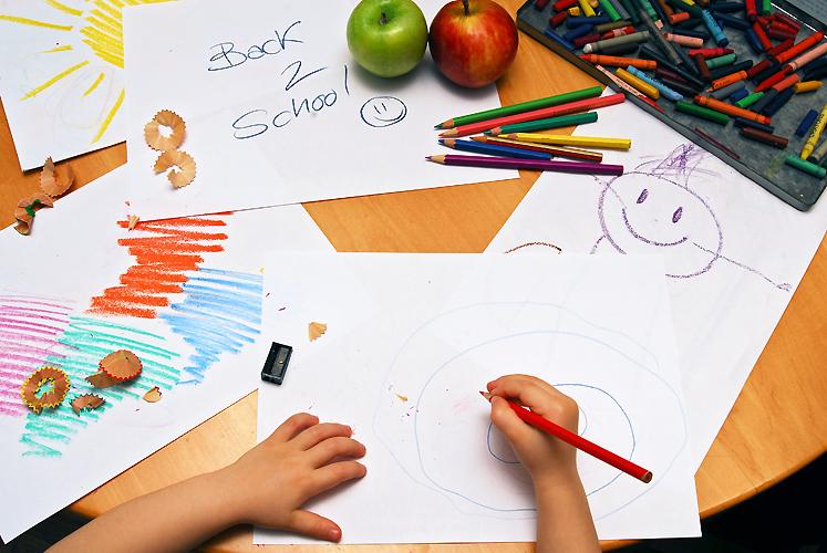 Preschool School Work