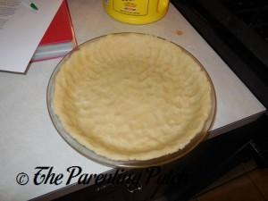 Unbaked Pecan Pie Crust
