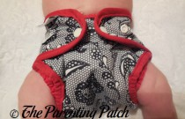 Lace Best Bottom: Daily Diaper Newborn Edition