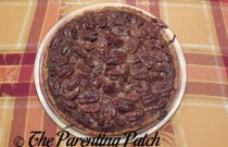 Baking a Pecan Pie for Christmas (Day 18 of 25 Days of Christmas)