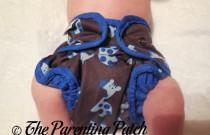 Blue Giraffe Best Bottom: Daily Diaper Newborn Edition