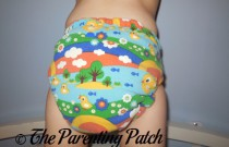 Mouse&Hatter Designs One-Size Fitted: Daily Diaper