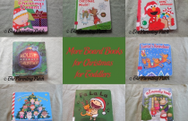 More Board Books for Christmas for Toddlers