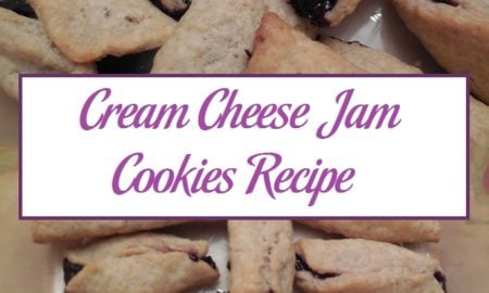 Cream Cheese Jam Cookies Recipe