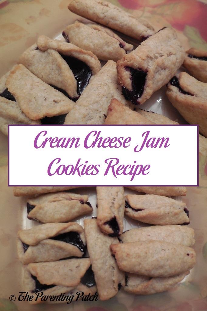 Cream Cheese Jam Cookies Recipe
