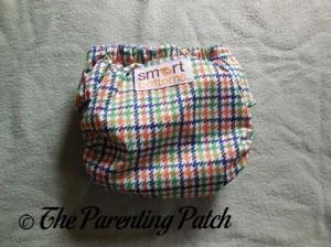 Back of Emerson Smart Bottoms Born Smart Newborn Diaper